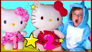 Три кота Английские Песни для детей Hello Makar bebé Inglés rimas  2019