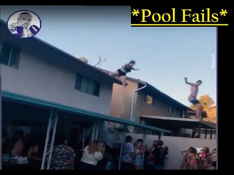 TOP Pool Fails   Swimming Pool Accidents