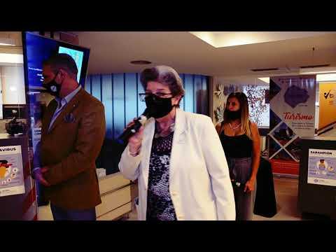 """Acto de Evento Descubrimiento Placa """"Manuel Belgrano, Propulsor del Comercio"""" - Cultura FECOBA"""