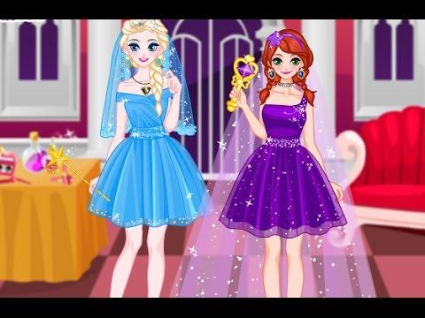 Elsa and Anna Makeup Party (Холодное сердце: макияж Эльзы и Анны)