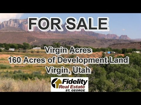For Sale - Virgin Acres, 160 Acres in Southern Utah