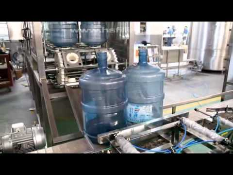 drinking water filling machine, water bottling plant