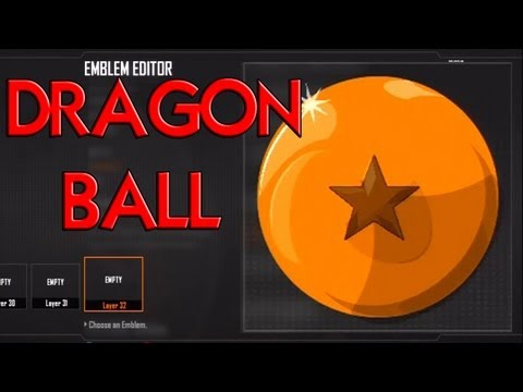 Black Ops 2 - Dragonball Emblem Tutorial