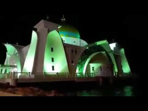 Azan Makkah Kembara Bilal Muda Amnan (KBMA) di Masjid Selat,Melaka