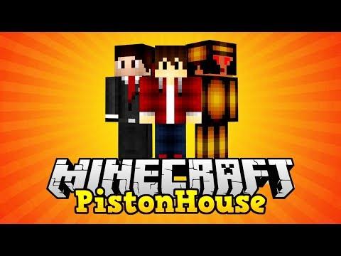Zu Gast Bei TheJoCraft In Der Lets Play Creative Piston House - Minecraft hauser verschonern