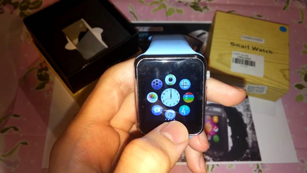 2ce3ea940 A1 Smartwatch Phone - YouTube