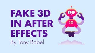 After Effects Tutorial - Fake 3D with Shape Layers