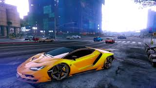 GTA V Lamborghini Centenario PC MAX Settings Gameplay | MSi R9 390 8GB DDR5