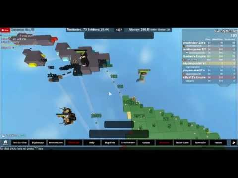 Territory Conquest in Hawaii [ROBLOX]