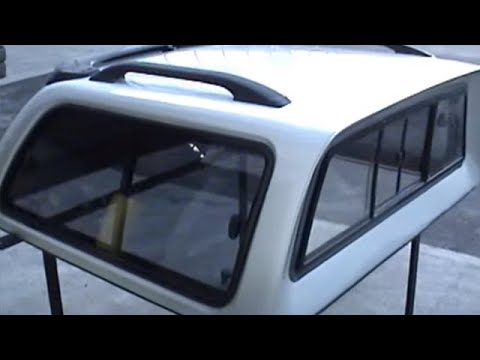 & Carryboy trucktop Canopy. Toyota Hilux Truck Top Fitting - YouTube