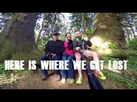 Hiking the Cascade Head Trail just North of Lincoln City, Oregon