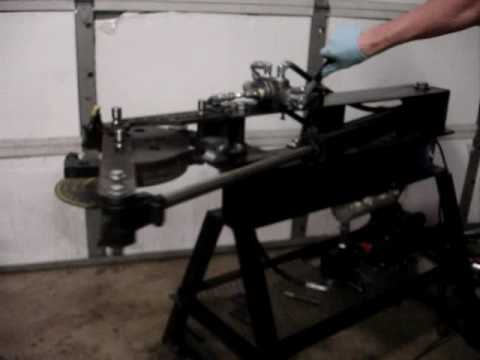 Electric Hydraulic Pump >> JD2 Home built hydro tubing bender conversion - YouTube
