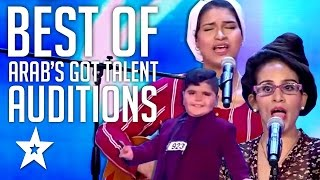 اراب جوت تالنت Arab's Got Talent 2017 Audition Highlights Golden Buzzers & More