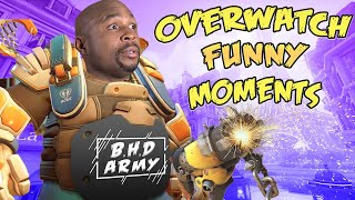 FUNNY MOMENTS Of Me Playing Overwatch