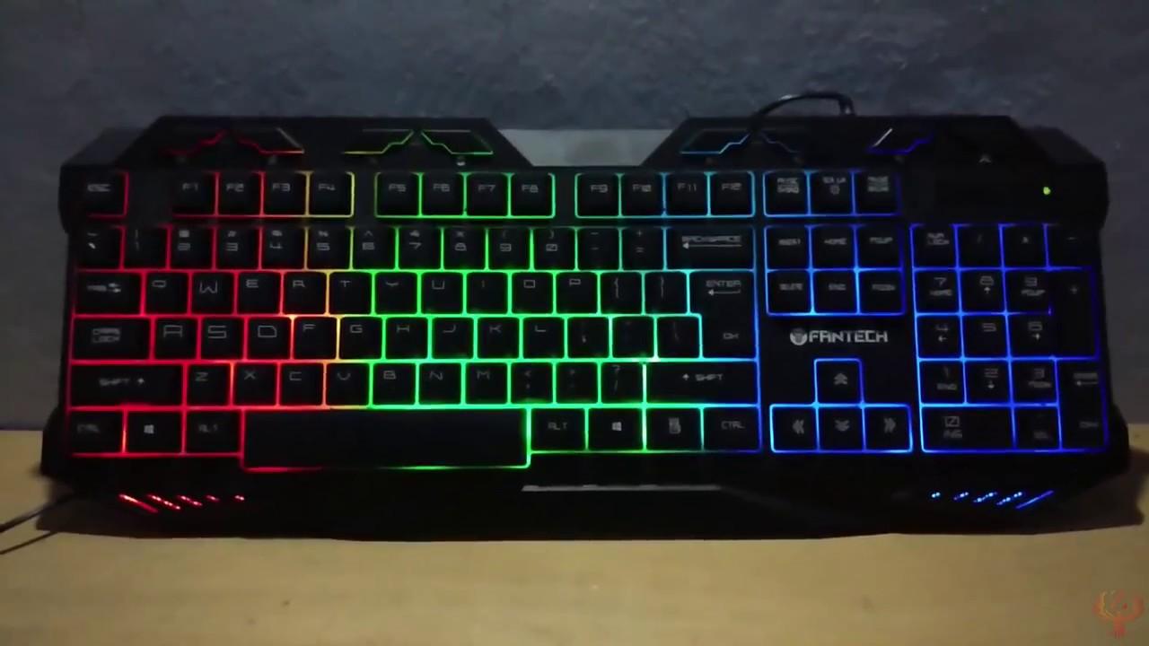 Keyboard Gaming K10 Hunter Hitam Daftar Harga Terkini Dan Termurah Fantech K12 Outlaw Unboxing