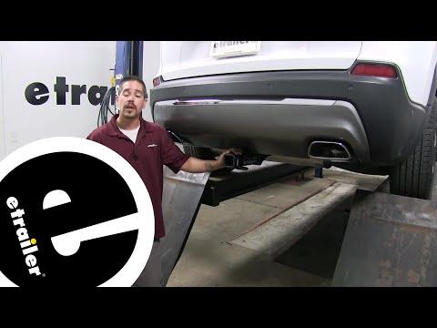 Etrailer | Curt Trailer Hitch Receiver Installation - 2019 Jeep Cherokee