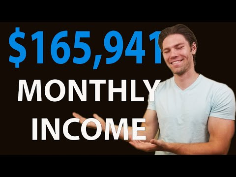 How I Built 5 Income Sources That Generate $165,941 Per Month