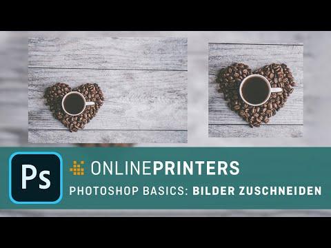 In Photoshop Bilder Zuschneiden – Basics Tutorial