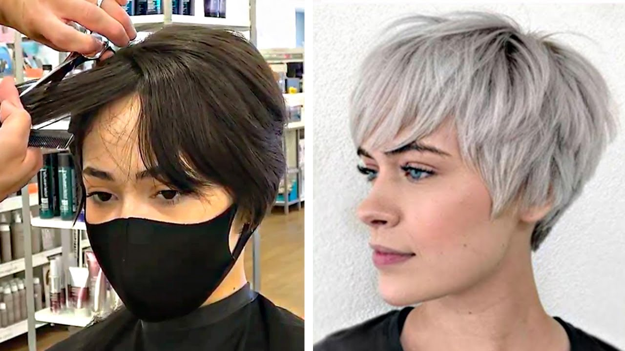 short haircuts for women over 50 2020