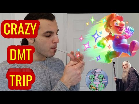 My First DMT Trip Report Story!