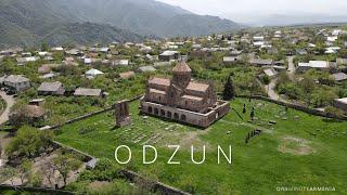 Odzun Monastery, Lori, Armenia | Օձունի վանք, Լոռի, Հայաստան | Drone video 4K