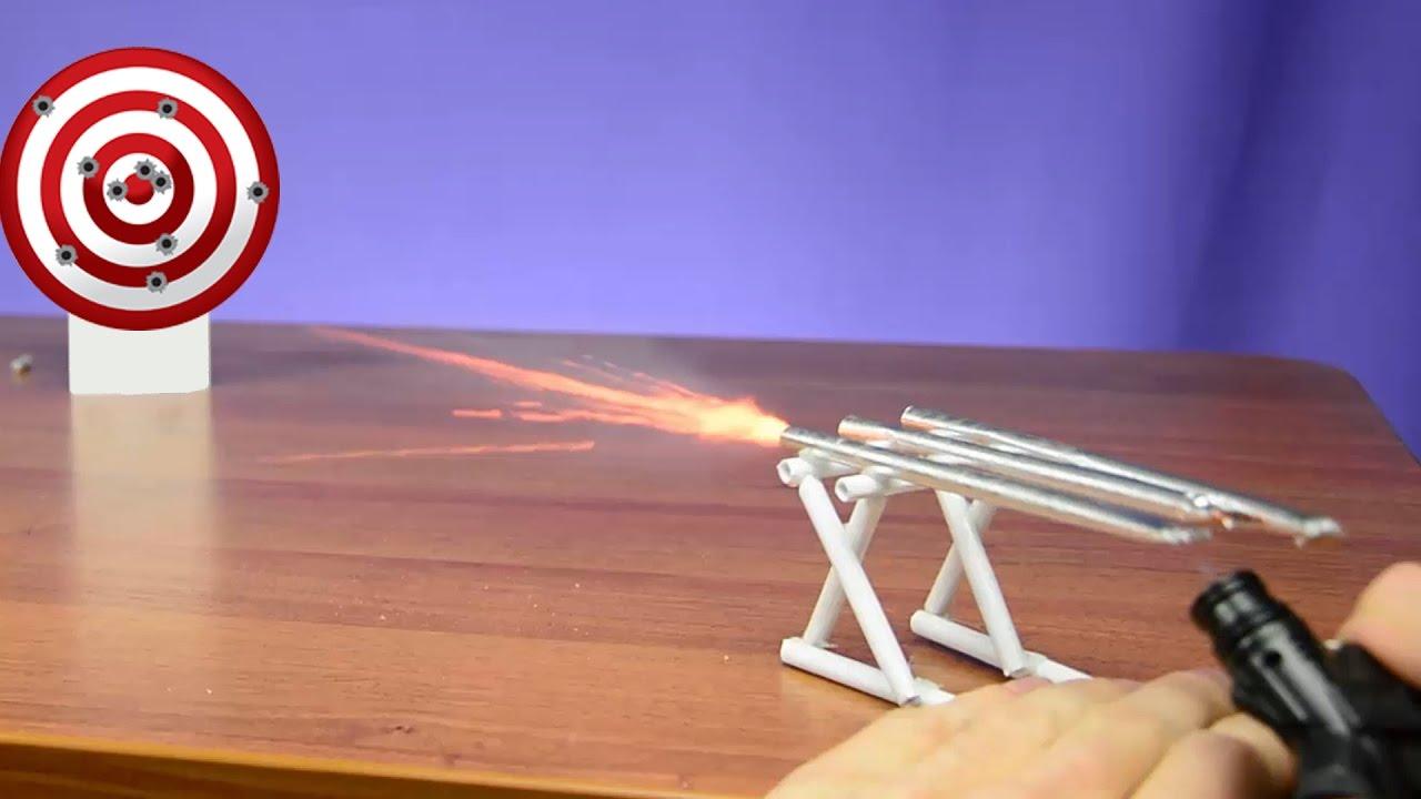 Как сделать пушку в домашних фото 617