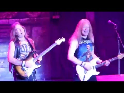 Iron Maiden - Fear of the Dark @ The Forum, Inglewood, CA, USA 4/15/2016