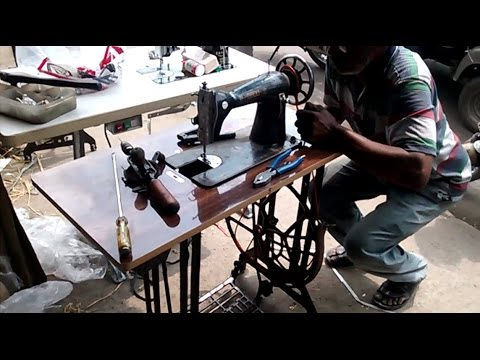 How To Assemble Sewing Machine Parts Assembling And Mechanism Part Impressive How To Assemble Sewing Machine