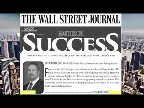 Dr Fred Rouse, CFP The REAL Money Doctor in Wall Street Journal