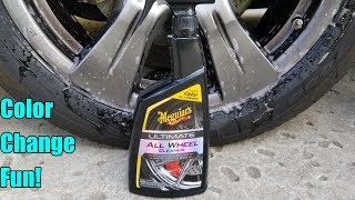 Meguiars Ultimate All Wheel Cleaner Review on a Toyota Sienna SE