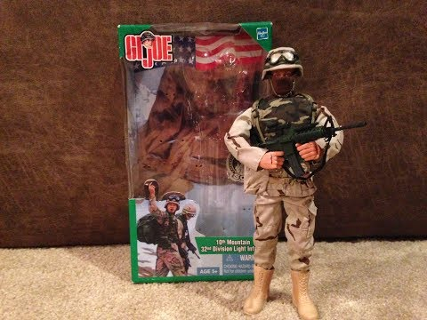 GI Joe 2002 10th Mountain 32nd Division Light Infantry (S.O.F. Collection) Review
