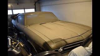 L89!!! EARTH MOVING 2,200 MILE 1969 SS396 CHEVELLE L78 L89 FOUND!!!