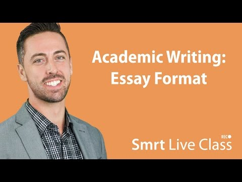 Academic Writing: Essay Format - English For Academic Purposes With Josh #16