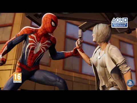 Vidéo SPIDER-MAN PS4 : TEASER DLC #3 LE RETOUR DE SILVER SABLE !