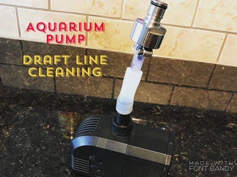 Keg Draft Line Cleaning with an Aquarium Pump