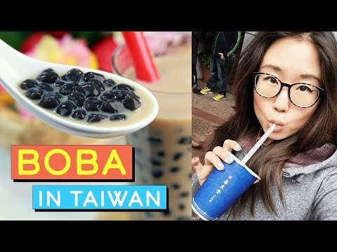 BOBA ♦ Bubble Milk Tea in Taiwan (TRAVEL VLOG)