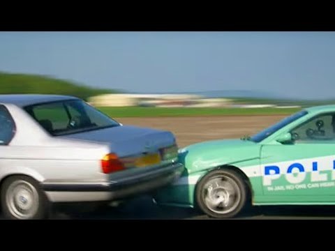 Stig Chased By 'The Police'  - Top Gear - BBC