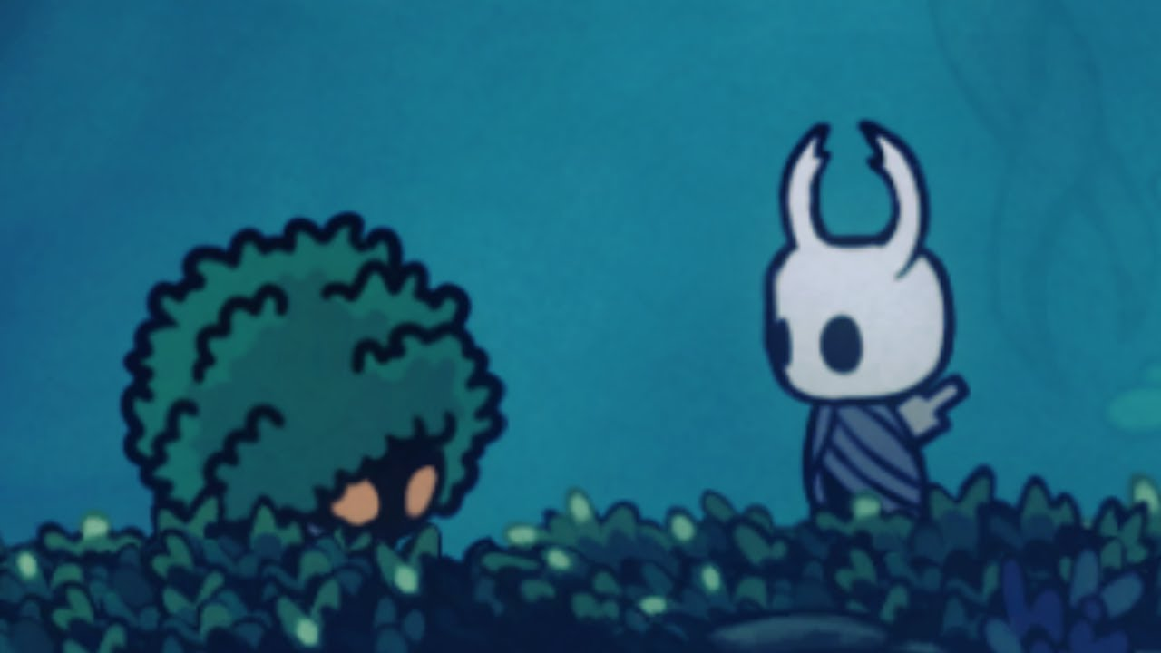 A totally normal Hollow Knight video :)