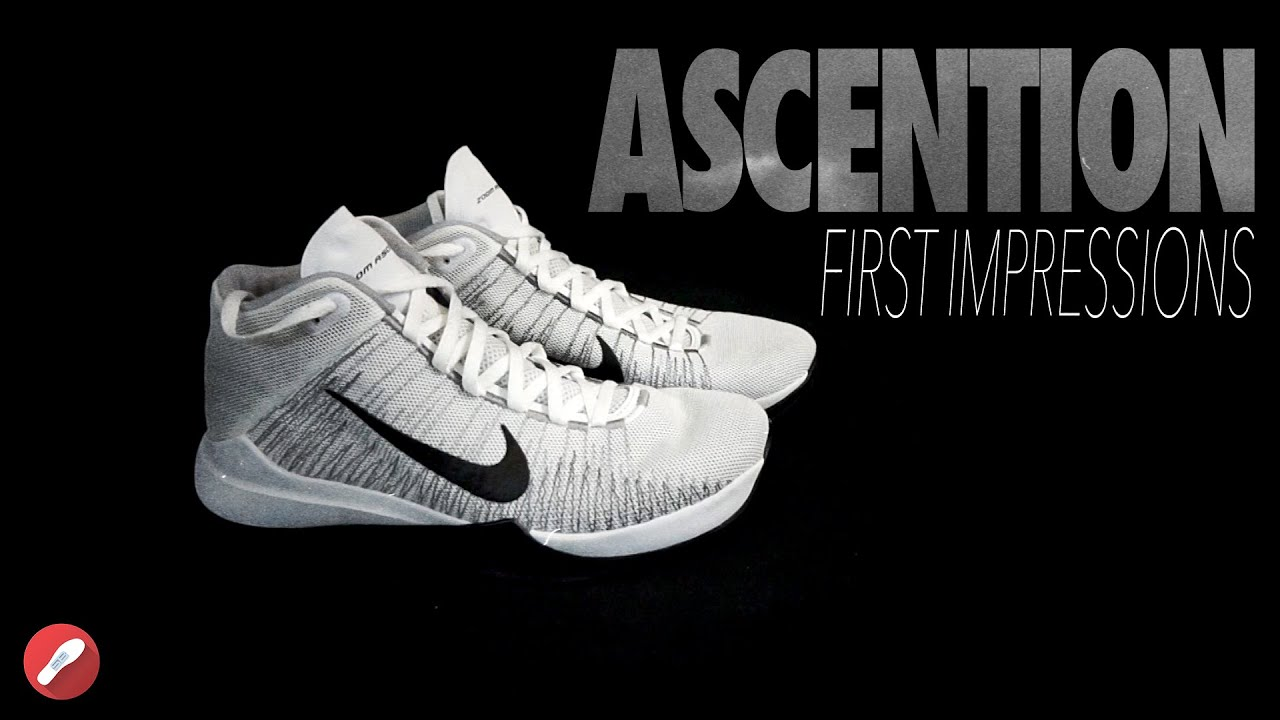 9950f281a6dd ... new style nike zoom ascention first impressions youtube f92d7 69743