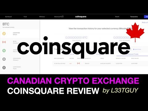 Coinsquare Review & Tutorial: Buy Crypto with a Bank in Cana