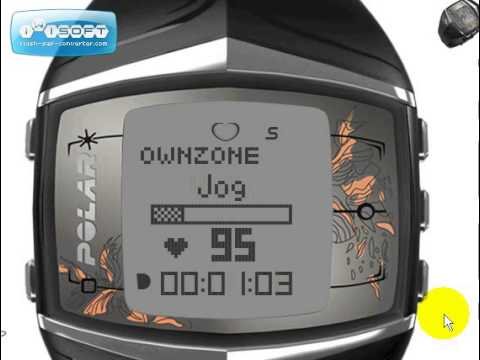 Reloj Deportivo Polar FT60 Ejercicio - Entrenando con OwnZone