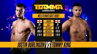BAMMA 34: Justin Burlinson vs Tommy King