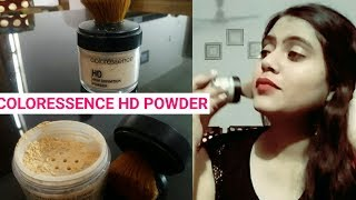 Coloressence High Definition Powder Review & Demo | Ivory Beige | By Shruti Mishra