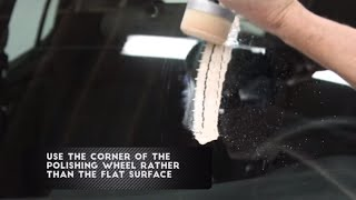 How to Remove Scratches from Windshield Using Cerium Oxide