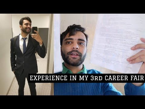 Career Fairs - How To Work Them Out! | Experience MS In US