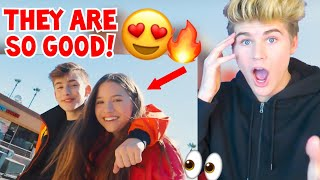 reacting to lauv i like me better johnny orlando mackenzie ziegler must watch 2018