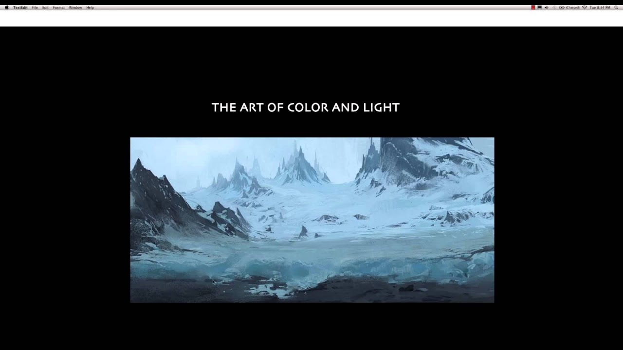 Color and art - Cgmas The Art Of Color Light With Ryan Lang