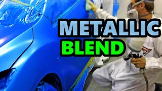 How to Paint a Car - Metallic Blend