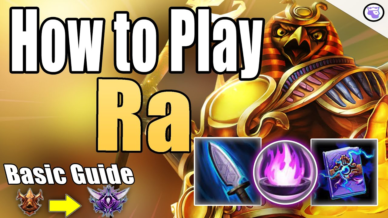 Smite Arena Gameplay w/ Basic Guide: Ra ...