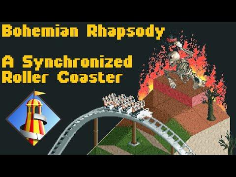 Bohemian Rhapsody | A Synchronized Roller Coaster